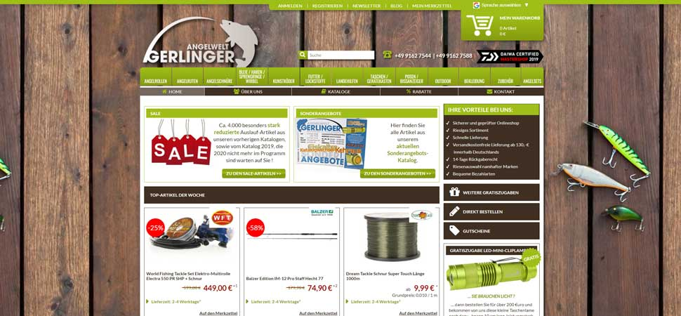 Gerlinger Onlineshop